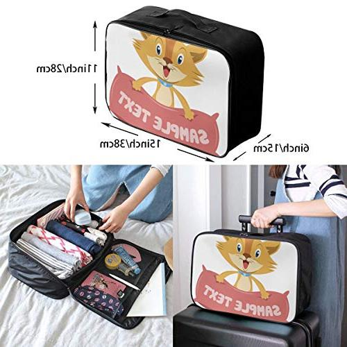 Travel Bags Cat Pillow Portable Handle