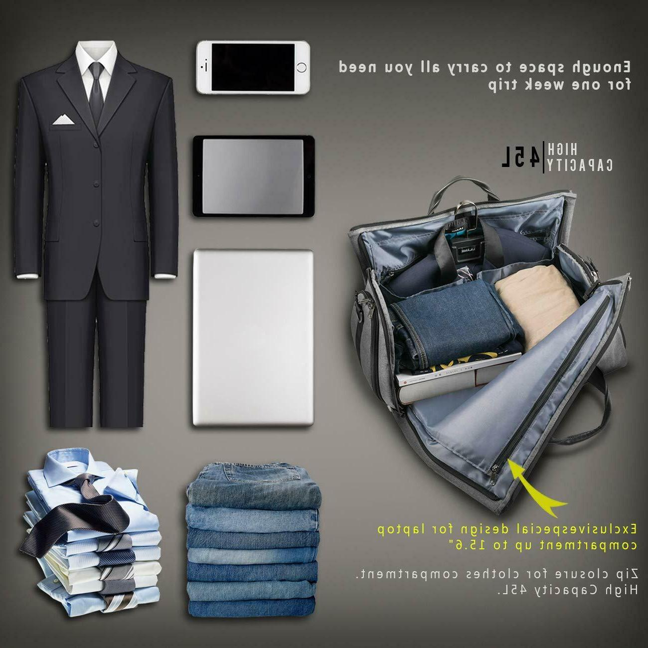 BUG Travel and Garment Bag 2 in 1