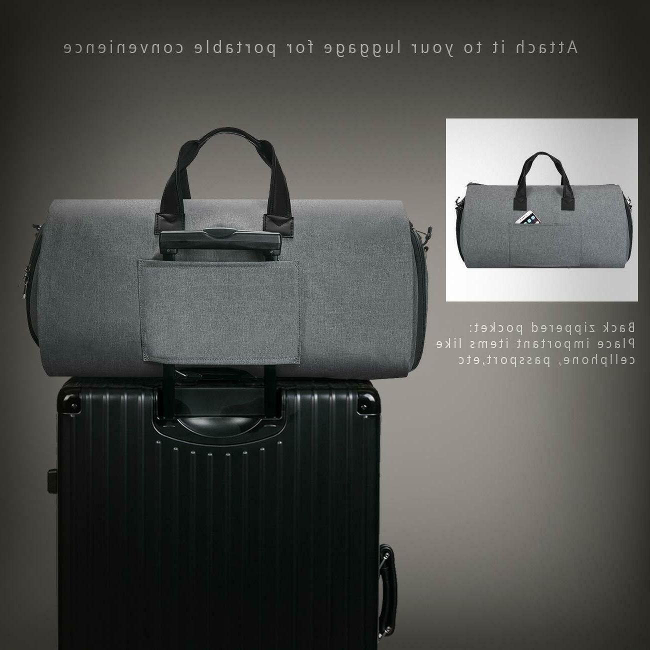 BUG Garment and Garment Bag - in 1