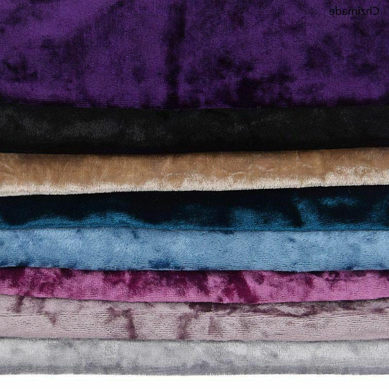 velvet fabric colors wide sewing accessories garment