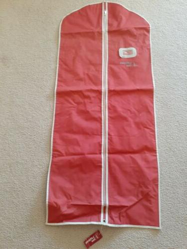 London Fog Vtg NOS 1950-60's Canvas Garment Bag Hanging Carr