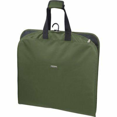 WallyBags 45-inch Suit Length, Carry-On, Slim Garment Bag wi