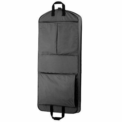 WallyBags 52-inch Dress Length, Carry-On, XL Garment Bag wit