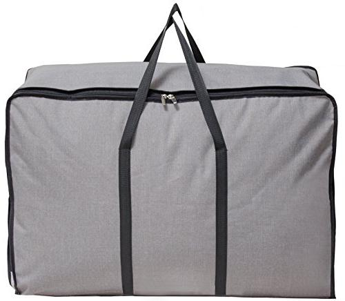 MISSLO Water Resistant Thick Over Size Folding Bed Storage, College Carrying Bag for Bedding