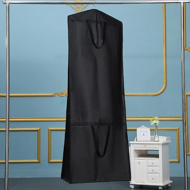 Wedding Cover with Zipper Storage <font><b>Large</b></font> Clothes Protector 180*60*30cm