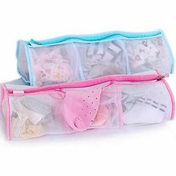 Laundry Bags Sock Washing Bag-3 Sectional Delicates For Garm