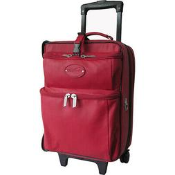 AmeriLeather Leather Novix Garment Bag - Red