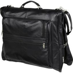 AmeriLeather Leather Three-suit Garment Bag 5 Colors