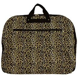 Leopard Hanging Garment Bag