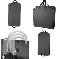 "WallyBags Luggage 40"" Garment Bag, Black"