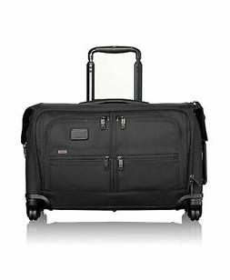 Men's Tumi 'Alpha 2' Wheeled Carry-On Garment Bag - Black