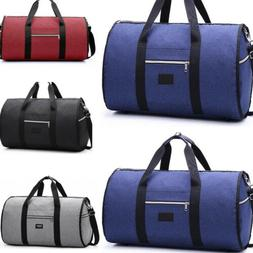 Mens Business Travel Garment Bag Carry On Suit Outdoor Gym L