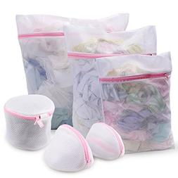 Set of 6 Mesh Laundry Bags KSANA Durable Mesh Wash Laundry B