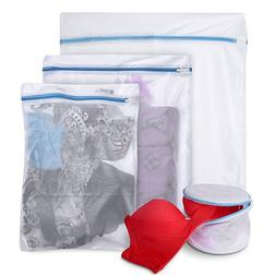 Twins Trade Mesh Laundry Bags-Durable Travel Garment Bags fo