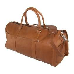 New Leather Impressions Leather Convertible Duffle Bag to Ga