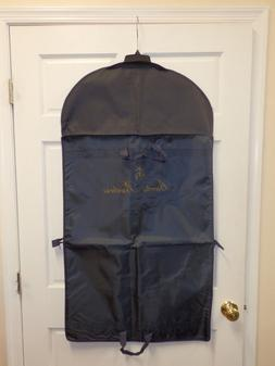 "New Brooks Brothers Navy Blue Travel Garment Bag 45"" Long"