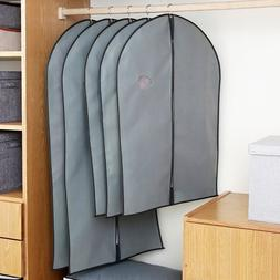 Non-Woven Clothes Dust Cover With A Zipper Folding Suit <fon