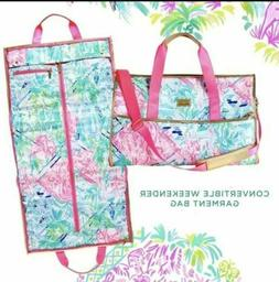 NWT Lilly Pulitzer Bohemian Queen Weekender Convertible Tote