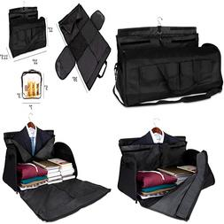 Olivia & Aiden 2-in-1 Travel Garment Bag | Duffel/Hanging Ca