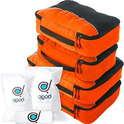 bago Packing Cubes For Travel - 10 Set Luggage and Accessori