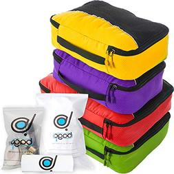 Bago Packing Cubes for Travel Bags - Luggage Organizer 10pcs