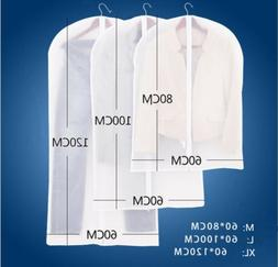 Plastic Clear Dust-proof Cloth Cover Suit/Dress Garment Bag