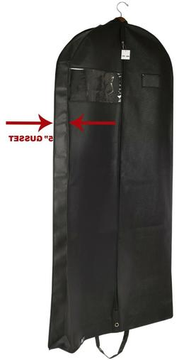 Premium Black Garment Bag Travel and Storage Breathable Eyeh