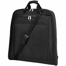 "AmazonBasics Premium XL Garment Bag, Black - 45"" New"