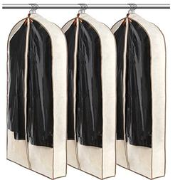 Luxehome Reusable Folding Garment Bags for Suits, Cloth, Pro