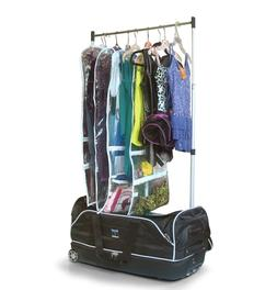 Rolling Dance Bag With Garment Rack Costumes Duffel Carry On