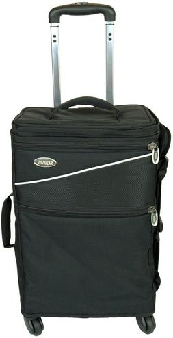 SKYROLL SPINNER- Wheeled Carry-On Suitcase & Garment Bag in