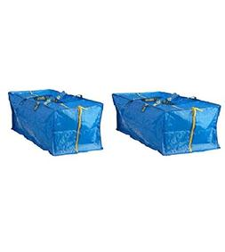 Storage Bag Extra Large Blue 2 PACK Reusable Eco Bags Travel
