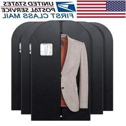 Suit Garment Bag for Storage or Travel Suit Covers w/ Clear