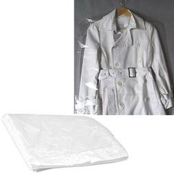 ACE 10pcs Clothes Suit Garment Dustproof Cover Transparent P