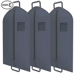 Suit Garment Travel Bags 3 Pack -Heavy Duty, Lightweight -40