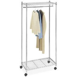 Whitmor Supreme Garment Rack, Chrome