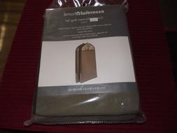 Essential Home Tan 2 Pack Garment Bags Set