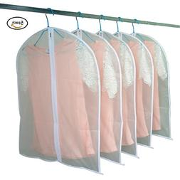 Simplized Life Transparent Travel Garment Suit Clothes Cover