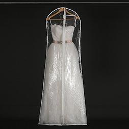 Henglizh Transparent Wedding Dress Dust Cover Garment Bags B