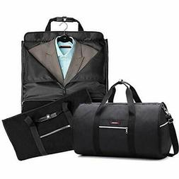 """Travel Garment Bag With Bags Pocket Folding """" Carryon Two-In"""