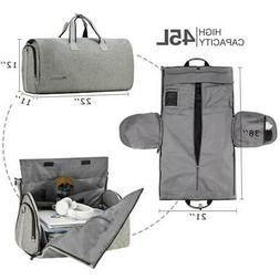 Travel Garment Bag with Shoulder Strap Duffel Carry on Hangi