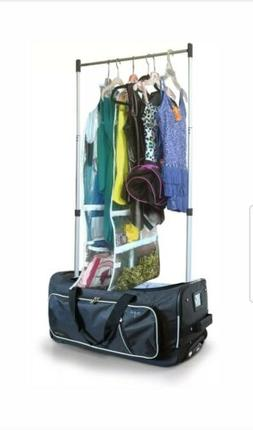 Travolution 23-inch Garment Rack Duffel With Wheels Luggage