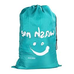 Wimaha Upgraded Rip-Resistant Drawstring Large Travel Laundr