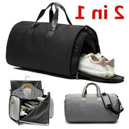 US Garment Bag+Duffle 2 in 1 Business Travel Suit&Jacket Gym