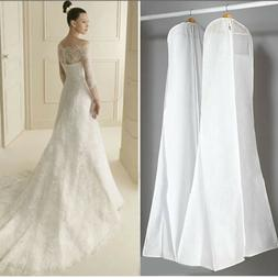 US Wedding Dress Bridal Garment Gown Dustproof Breathable Co