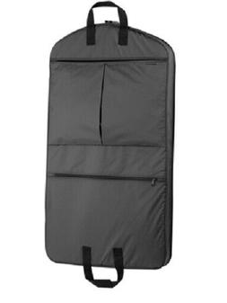 WallyBags 40 Suit Length - Supports Garment - Polyester - Bl