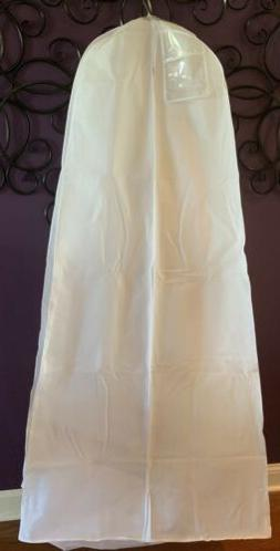 XL Bridal Gown GARMENT BAG breathable Wedding Gown Pagent Pr