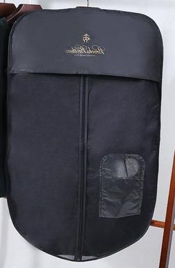 Brooks Brothers Zipped Protective Cover Garment Bag Hanging